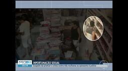 Suspeito de ejacular em mulher se apresenta para prestar depoimento em Montes Claros