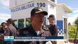 Cabine blindada da PM é inaugurada em Rio das Ostras, no RJ