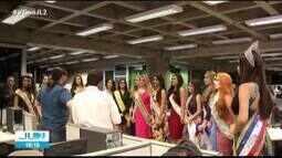 Candidatas do Rainha das Rainhas 2019 visitam sede do jornal O Liberal, em Belém
