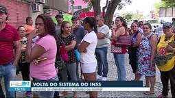 Sistema do INSS volta a funcionar em Caruaru