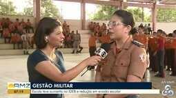 Escolas com gestão militar em Macapá e Santana apresentam aumento na procura