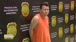 Polícia Civil apresenta suspeito de matar advogado em Manaus