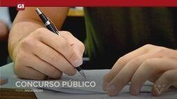G1 em 1 minuto - Santos: Prefeitura de Cajati, no Vale do Ribeira, abre concurso público