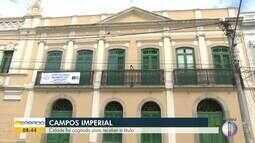Campos foi cogitada para receber o título de Cidade Imperial