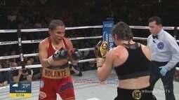 Rose Volante é nocauteada e perde título mundial de boxe