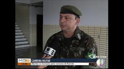 Estão abertas as inscrições para o concurso do Exército Brasileiro