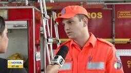Corpo de Bombeiros dá dicas de segurança durante período chuvoso