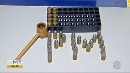 Estudante de escola de Tangará da Serra tinha mais de trinta munições calibre 380