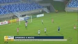 Confira os resultados da rodada do Campeonato Mato-Grossense