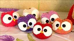 Veja história da artesã de crochê que aposta em loja colaborativa no para aumentar vendas