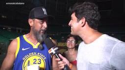 Timbó bate um papo com os fãs de Los Hermanos sobre a emoção de rever a banda nos palcos