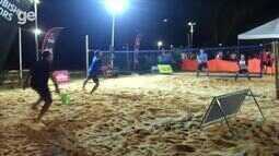 Torneio de beach tennis reúne mais de 100 atletas