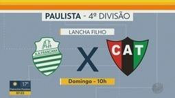Confira os jogos dos times da região de Ribeirão Preto no Campeonato Paulista