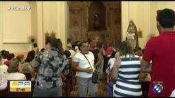 Na igreja São João Batista acontece a procissão de Nossa Senhora das Dores