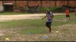 GE volta e vê avanços no projeto Garotos do Futebol, no Icuí-Guajará