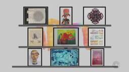 Confira mais obras da exposição 'Mulheres em Movimento'