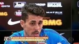 No Corinthians, Danilo Avelar está liberado para jogar a decisão