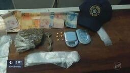 Jovem é preso com drogas próximo a santuário em Poços de Caldas (MG)