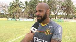 Sampaio vive a expectativa para a estreia na Série C no Campeonato Brasileiro
