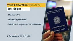 Veja as vagas de emprego disponíveis em Dianópolis, Guaraí e Araguatins