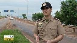 Pessoas flagradas pescando na ponte FHC poderão pagar multa ou serem presas