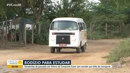 Rodízio de aulas: crianças deixam de estudar por conta de problemas em transporte escolar