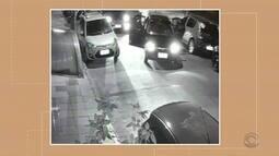 Câmeras de segurança flagram tentativas de assalto a passageiros de aplicativo
