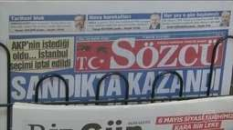 Países europeus criticam medida antidemocrática na Turquia