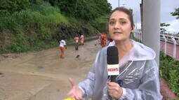 Com liberação confirmada pelo prefeito, Avenida Niemeyer, no Rio, ainda tem muita lama