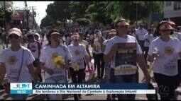 Em Altamira manifestação lembra Dia Nacional de Combate ao Abuso Sexual