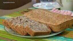 Hilton Vaccari ensina a preparar pão caseiro no Cozinha de Galpão