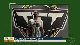 Vitor Dias participa de luta de MMA no Rio