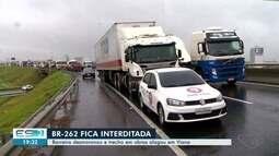 Após chuvas na Grande Vitória, rodovias tem trechos de interdição