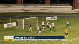 Brasileiro Série C: Remo é melhor em campo, mas não sai do empate contra o Ypiranga (RS)