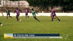 São Raimundo se prepara para jogar contra o Atlético de Roraima no domingo, em Santarém