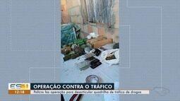 Operação da Polícia Federal prende grupo que fornecia drogas no ES e BA