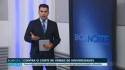 Deputados estaduais assinam requerimento que será enviado a Brasília