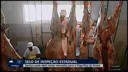 Frigorífico de Araxá opera com selo de inspeção estadual