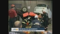 Evento nacional de salvamento veicular termina nesta quarta (22) em Chapecó