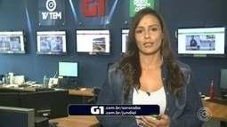 Natália de Oliveira traz os destaques do G1 nesta quinta-feira