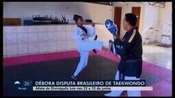 Atleta de 16 anos represente Divinópolis e Minas Gerais em Brasileiro de taekwondo