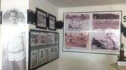 Museu dos Esportes tem paredes temáticas e exposições por período