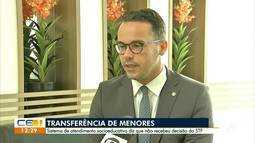 STF determina transferência de menores em conflito com a lei no Ceará