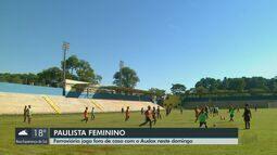 Paulista Feminino: Ferroviária joga fora de casa com o Audax neste domingo