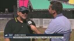 18ª edição do João Rock ocorre neste sábado em Ribeirão Preto
