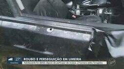 Adolescente é detido após participar de sequência de roubos em Limeira