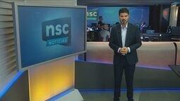 Confira os destaques do NSC Notícias desta segunda-feira (17)