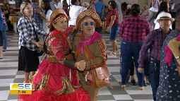 Idosos do Asilo Rio Branco comemoram festejos juninos