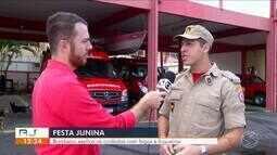 Festa Junina: bombeiro explica cuidados com fogos e fogueiras