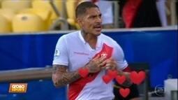 Saudade do meu ex: Guerrero brilha na vitória do Peru